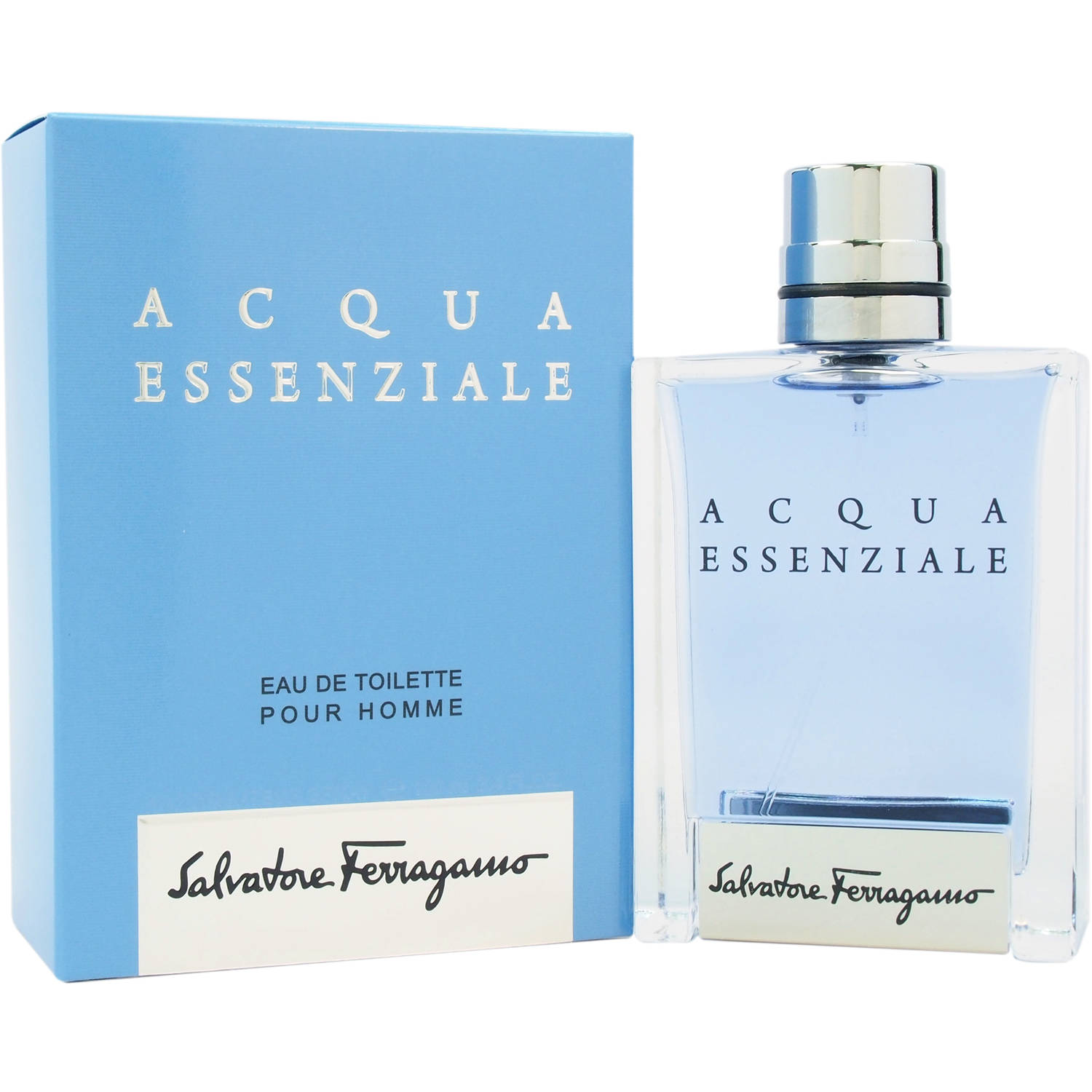 Salvatore Ferragamo Acqua Essenziale for Men Eau de Toilette Spray, 3.4 fl oz