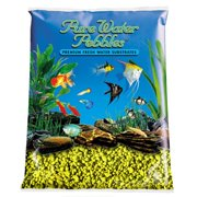 Pure Water Pebbles Aquarium Gravel Daffodil Premium Substrate Non-Toxic 5 lbs