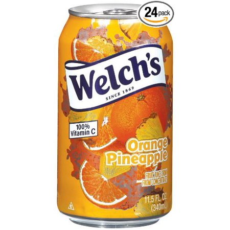24 PACKS : Welch's Orange Pineapple Drink , 11.5-Ounce Cans](Orange Alcoholic Drinks Halloween)