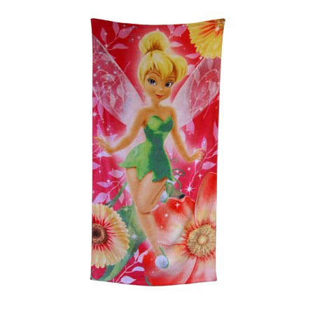 "Beach Towel - Tinkerbell ""Floral Fairy"""