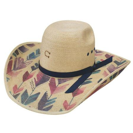 9a4bf75156 Charlie 1 Horse Hats Womens Straight Arrow 4 1/4 Brim Fashion Hat