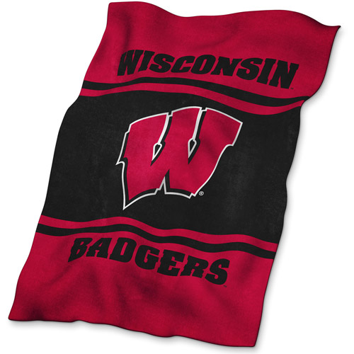 Logo Chair NCAA Wisconsin UltraSoft Blanket