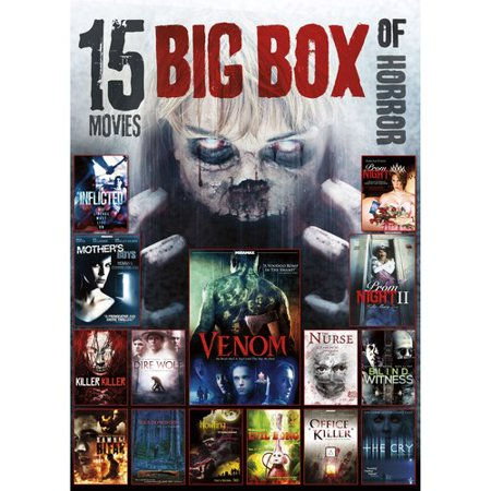 Walmart Credit Card Review >> Platinum 15 Movies Big Box Of Horror Dvd Mp Fw - Walmart.com