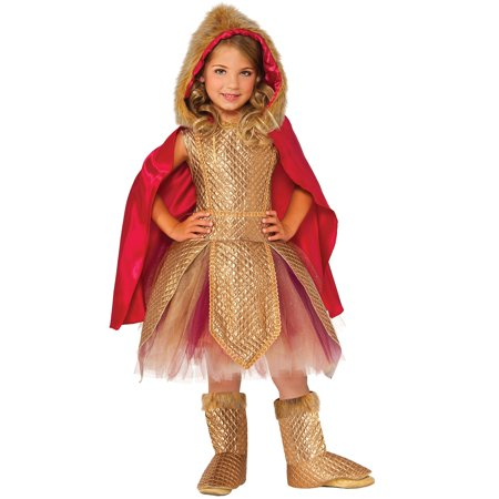 Warrior Princess Girls Costume - Viking Princess Warrior