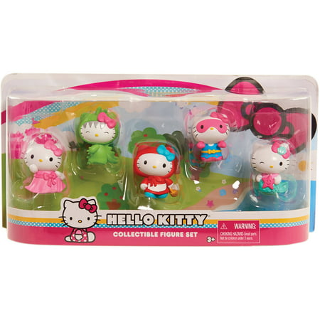 (Hello Kitty Figures, 5pk)