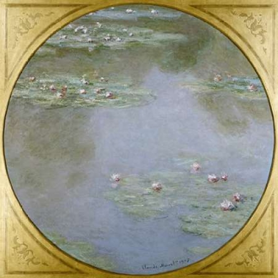 Waterlilies Poster Print by  Claude Monet