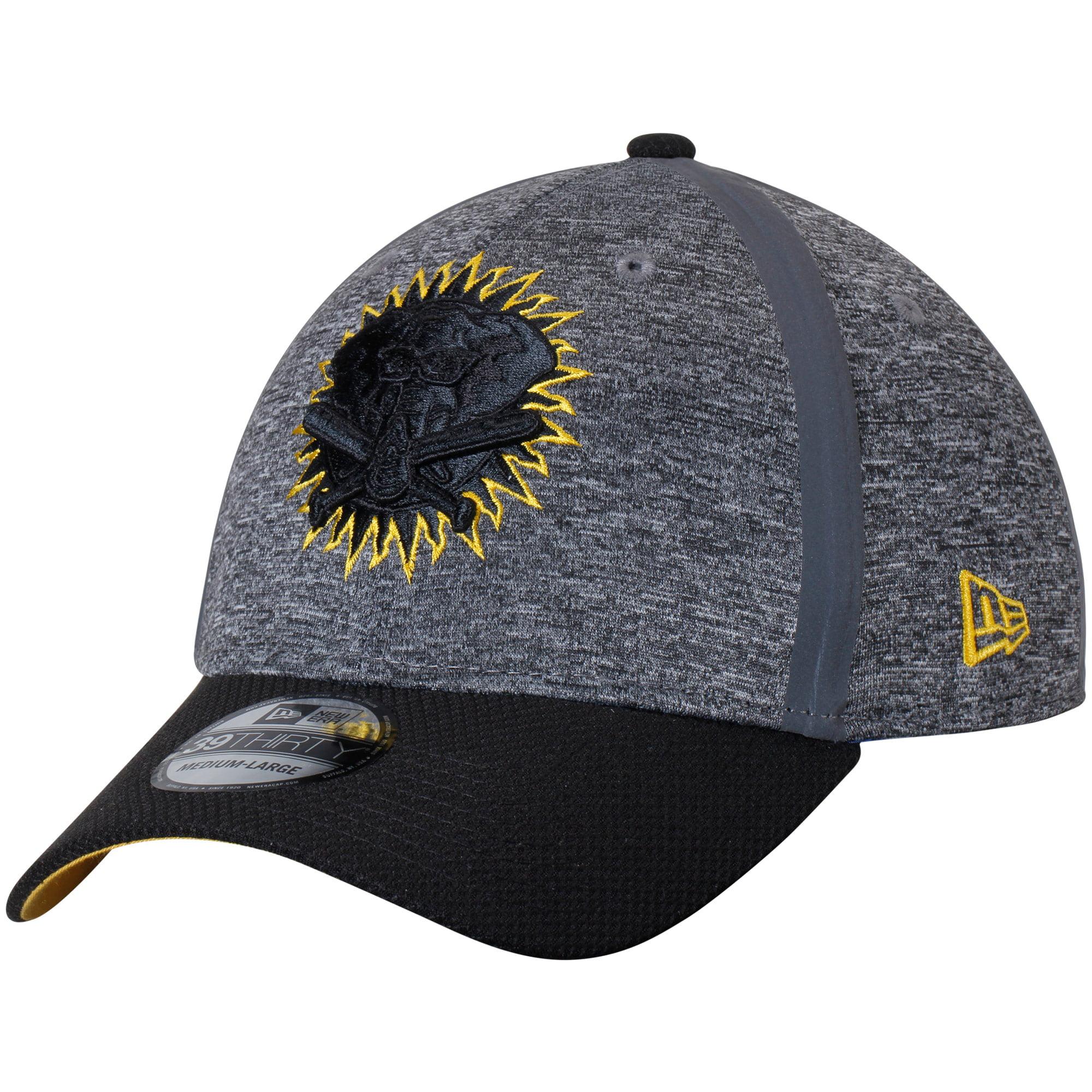 Oakland Athletics New Era Clubhouse 39THIRTY Flex Hat - Heathered Gray/Black