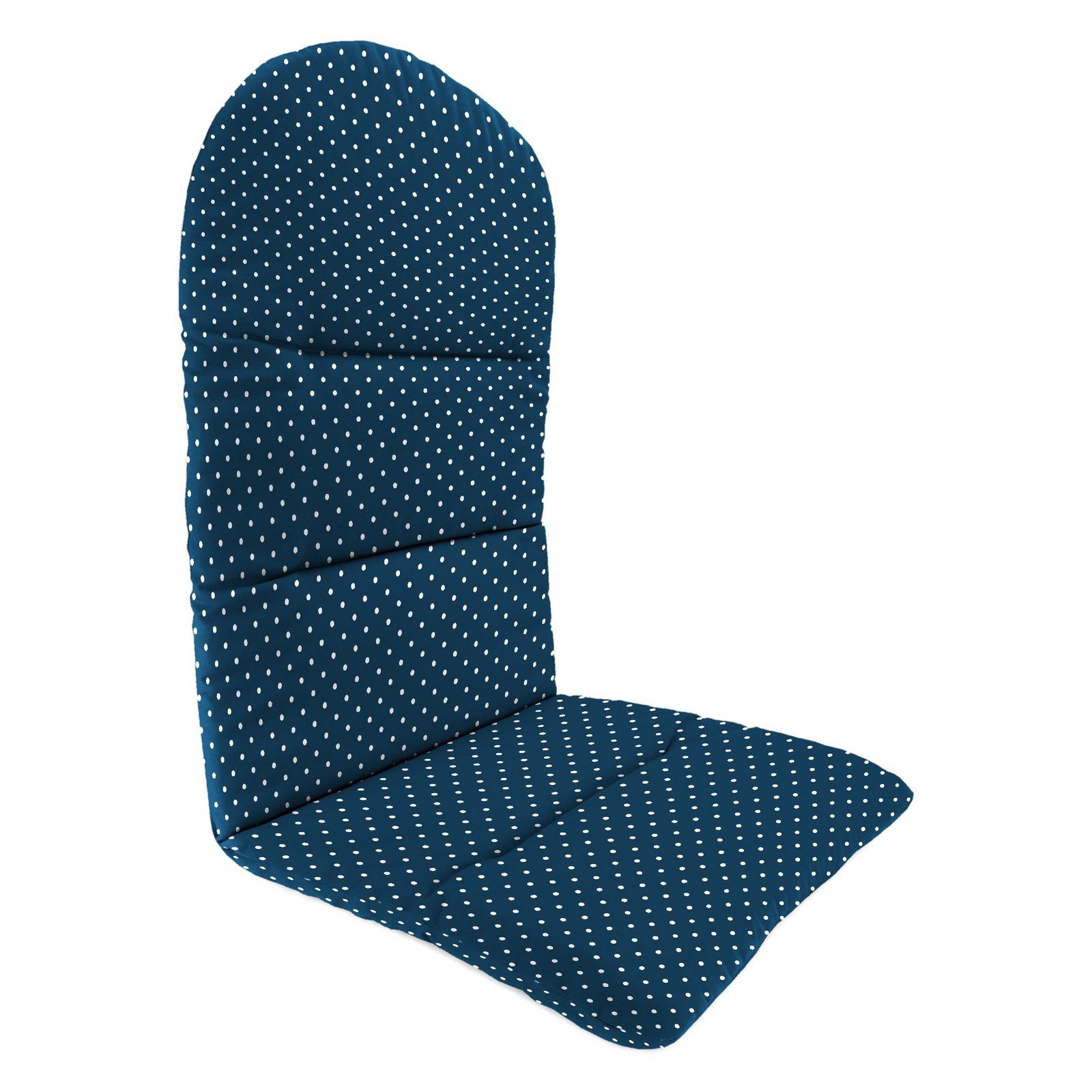 Jordan Manufacturing 49 in. Knife Edge Outdoor Adirondack Chair Cushion - Mini Dots