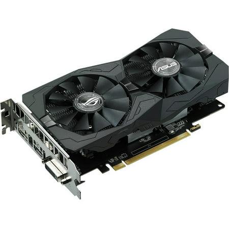 ASUS ROG Strix Radeon RX 560 O4GB Gaming OC Edition GDDR5 DP HDMI DVI AMD Graphics Card