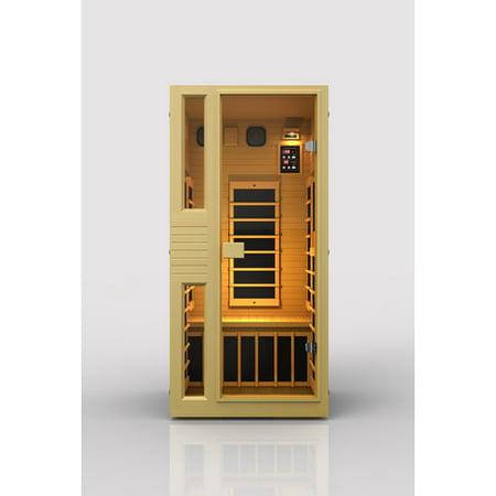 jnh lifestyles ensi 1 person far infrared sauna. Black Bedroom Furniture Sets. Home Design Ideas