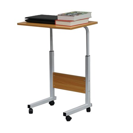 Ktaxon Side Table Sofa End Cart Laptop PC Rolling Computer Desk Stand Coffee Tray ()