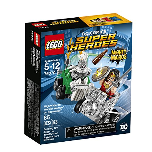 LEGO Super Heroes Mighty Micros: Wonder Woman Vs. Doomsday 76070 Building Kit