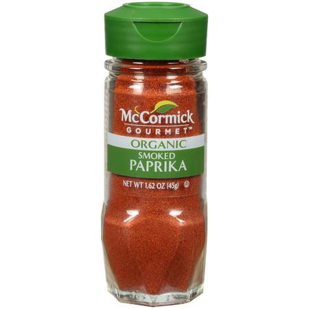 McCormick Gourmet Organic Smoked Paprika, 1.62 oz