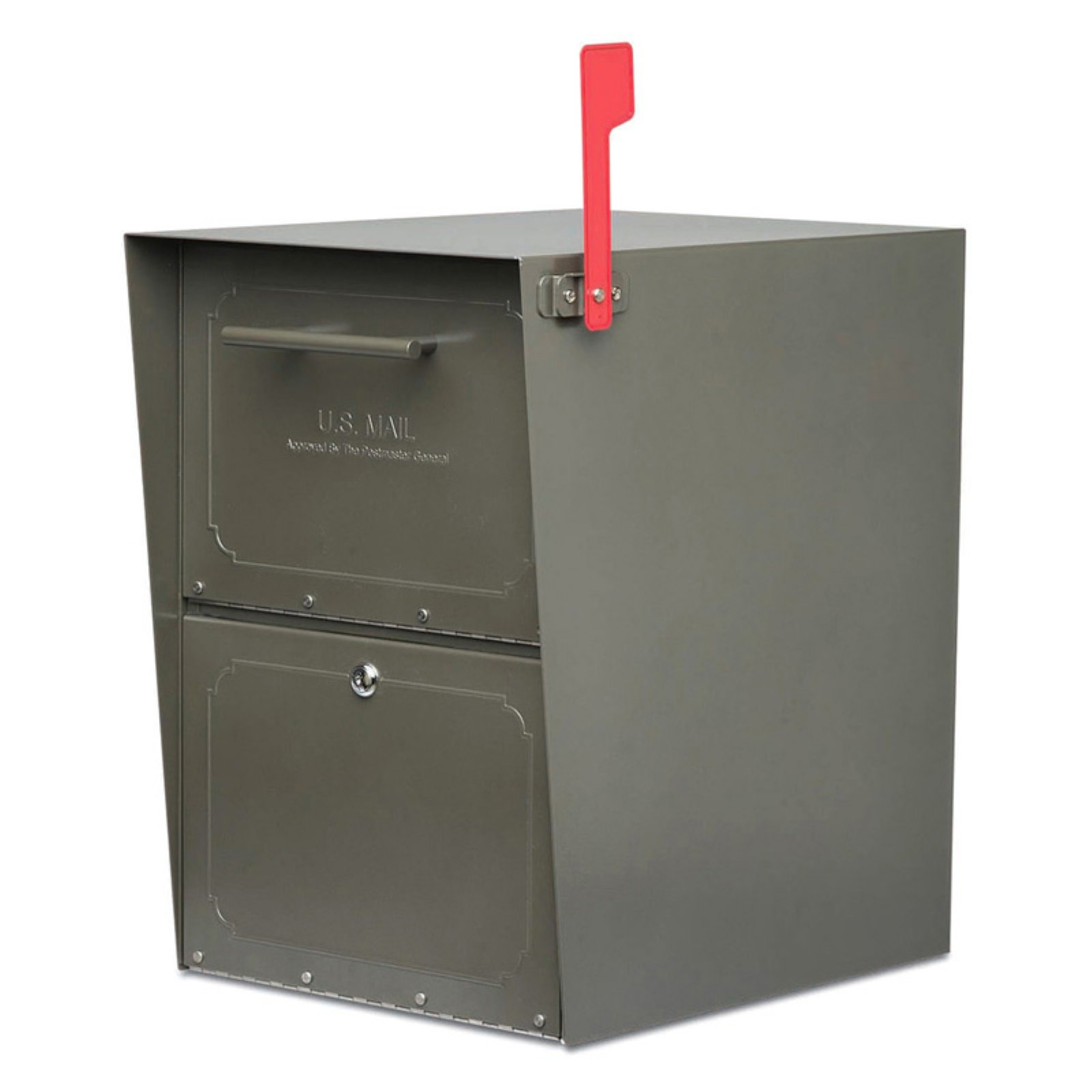 Architectural Mailboxes Oasis Jr. Post Mount Mailbox by Architectural Mailboxes