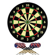 Trademark Games Dart Game Set with 6 Darts and Board by TRADEMARK GAMES INC