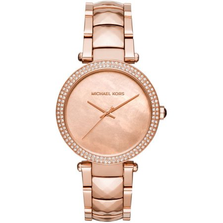 cd383431a1f56 Michael Kors - Women s Parker Crystallized Rose Gold Watch MK6426 -  Walmart.com