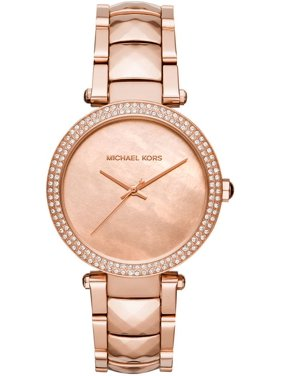 c3d3b199a946 Product Image Women s Parker Crystallized Rose Gold Watch MK6426. Michael  Kors