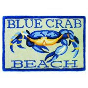 Blue Crab Beach Doormat