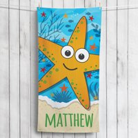 Personalized Star Fish Towel