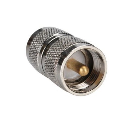 DHT Electronics RF coaxial coax adapter UHF male to male PL-259 connector - image 1 de 1
