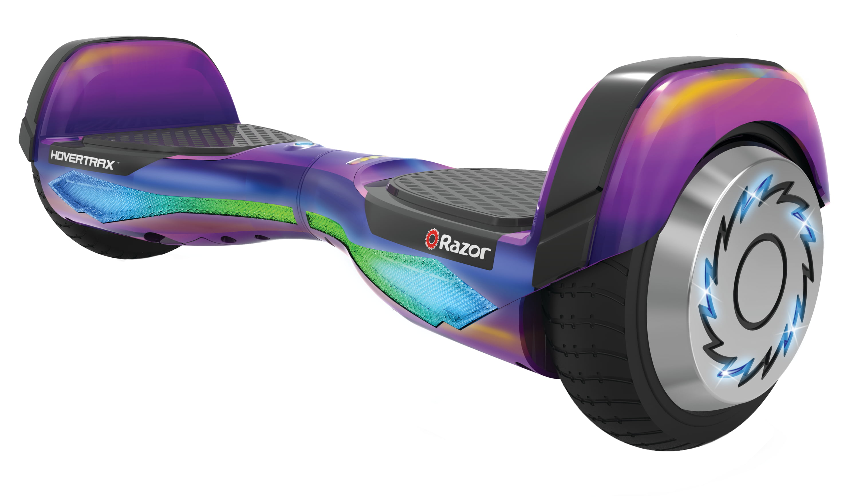 Razor HoverTrax DLX Hoverboard Self-Balancing Smart Scooter - Spectrum