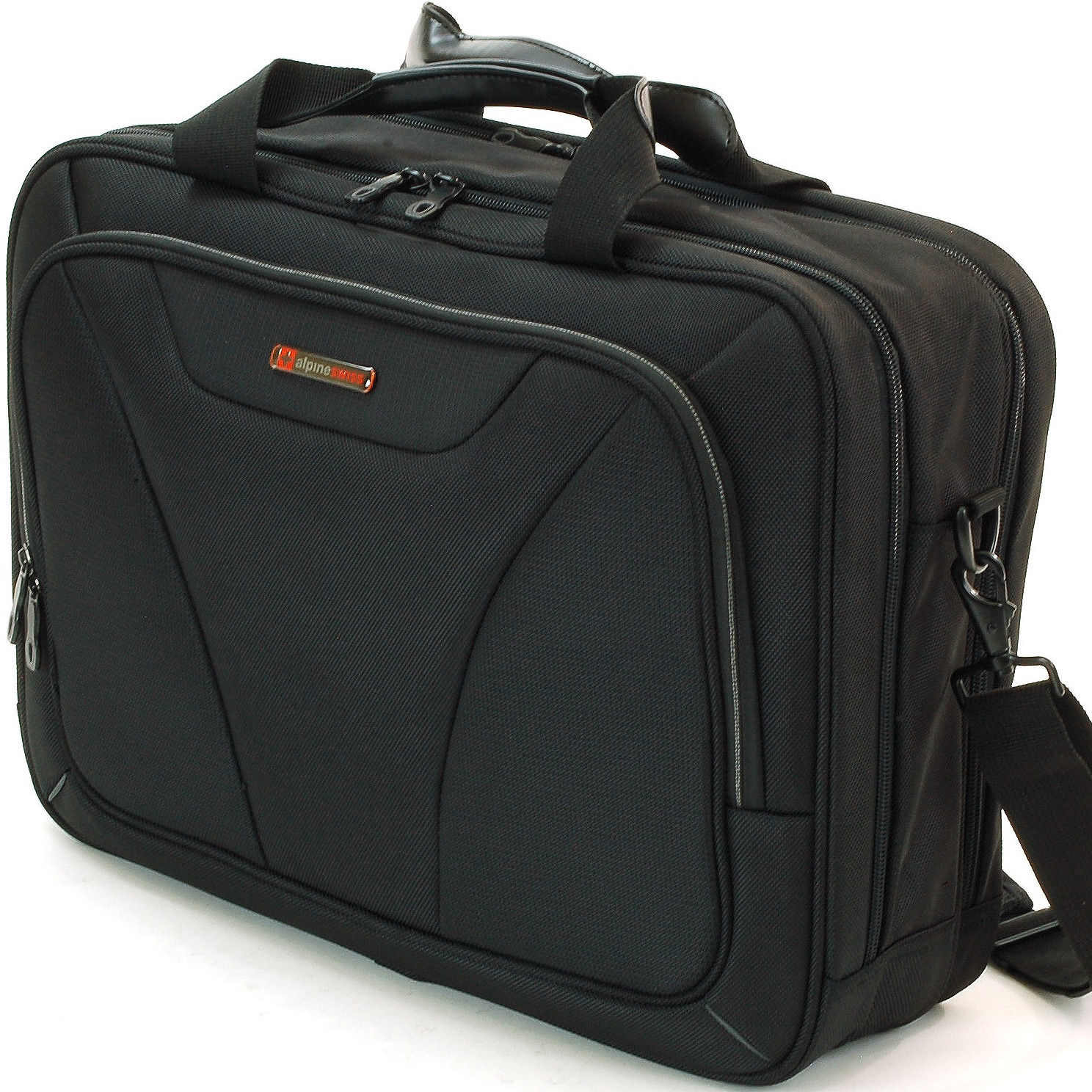 Alpine Swiss Laptop Briefcase Computer Bag Business Case Portfolio Tablet Sleeve by Alpine Swiss
