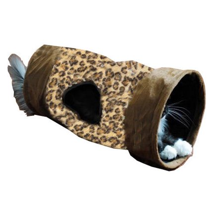 Crinkle Cap - Leopard Print Crinkle Cat Tunnel Cat Toy