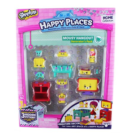- Happy Places Shopkins S2 Decorator Pack, Mousy Hangout