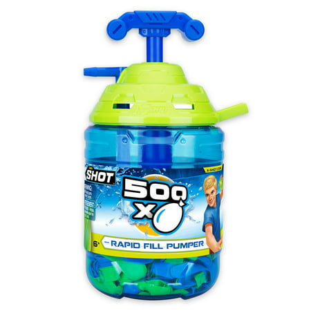 ZURU X-Shot Pump with 500 Water - Water Ballons