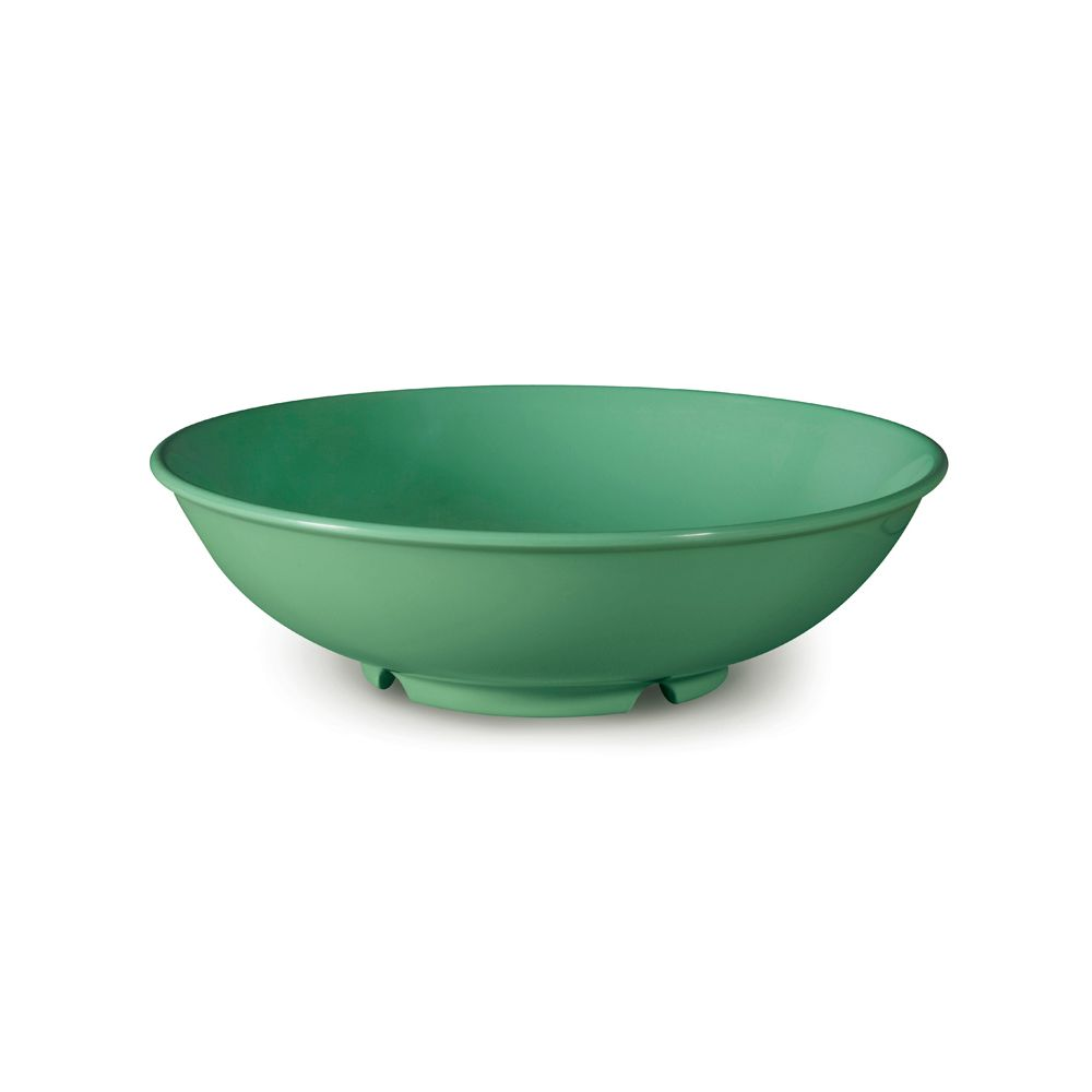 G.E.T. B-48-FG Rainforest Green 1.9 Quart Pasta Bowl 12   CS by G.E.T. Enterprises