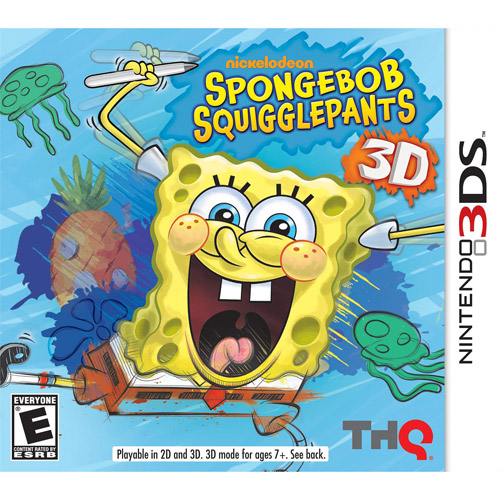 SpongeBob Squarepants: Spongebob Squigglepants (3DS)