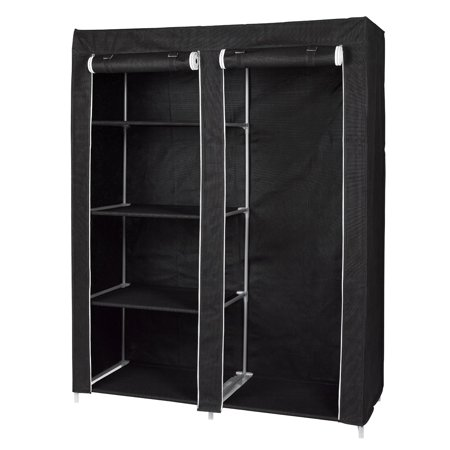 Portable Wardrobe Closet Organizer By Florida Brands Walmart Com
