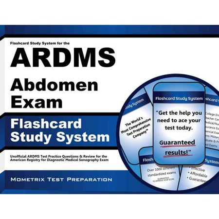 Flashcard Study System For The Ardms Abdomen Exam  Ardms Test Practice Questions   Review For The American Registry For Diagnostic Medical Sonography Exam