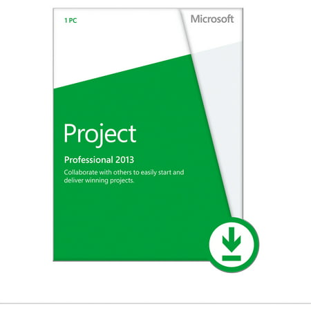 Microsoft Project Professional 2013, 1 PC Download (Email