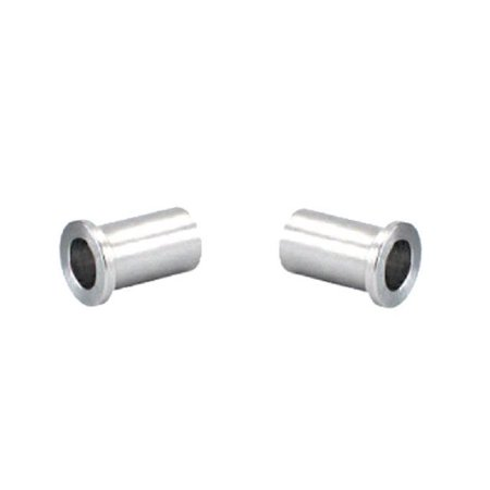 (Pack of 2) Steel Spanner Flanged Bushing 1/2