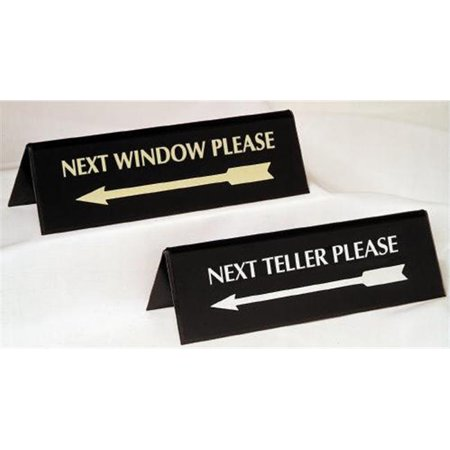 Mmf 283075700 Sign Arrow Pyramid Style   Next Window Silver   On Black
