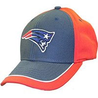 3bc0c741 Product Image NFL Officially Licensed New England Patriots Blue Red  Embroidered Baseball Hat Cap Lid