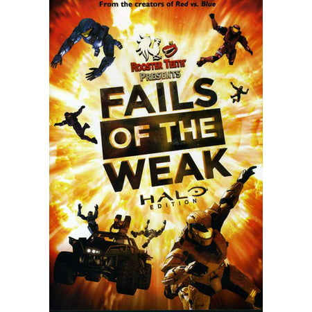 ROOSTER TEETH-BEST FAILS OF THE WEAK-HALO EDITION (DVD) (The Best Tv Company)