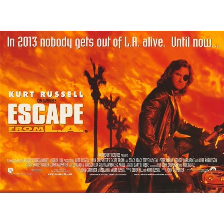 Escape From L.A. (1996) 11x17 Movie Poster