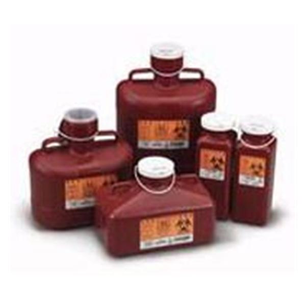 WP000-PT -186W 186W Container Sharps-Tainer Non-Stackable Large Red 10qt Ea Medical Action Industries