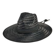Men's San Diego Hat Company Moss Lifeguard Straw Hat with X-Large Brim RSM591