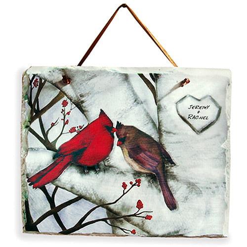 Personalized Cardinal Slate