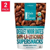 Dried Fruit & Raisins: Made in Nature Deglet Noor Dates