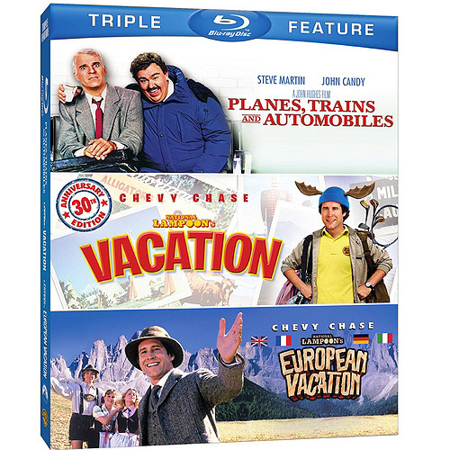 Planes, Trains And Automobiles / National Lampoon's Vacation / European Vacation (Blu-ray) (Widescreen)