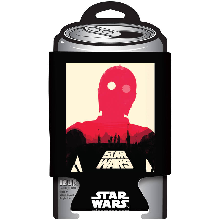 Star Wars C-3PO Poster Can Cooler