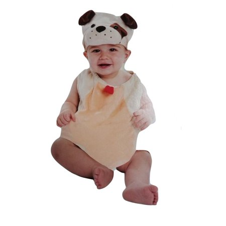 Boo Babies Halloween Costume Precious Puppy Dog Sz 0-9 Months 3 Pieces Beige