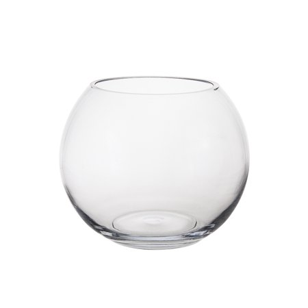 Mega Vases 8 X 625 Fish Bowl Glass Vase Set Of 1 Clear