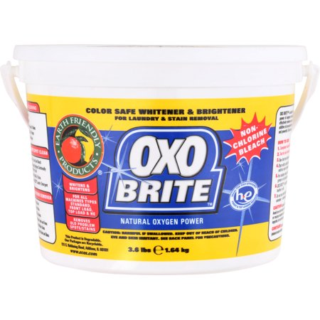 Earth Friendly - OXO Brite Color Safe Whitener & Brightener For Laundry & Stain Removal Fragrance-Free - 3.6 lbs. [1-Pack]