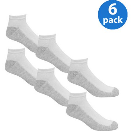 e6cf4c68f Fruit of the Loom - Men's Big & Tall Low Cut Socks 6-Pack - Walmart.com