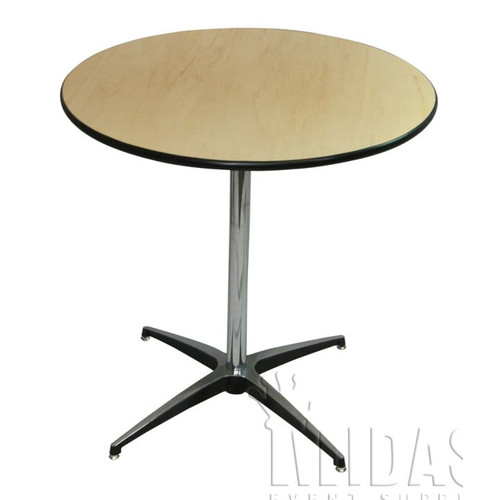 Midas Event Supply Elite Pedestal Dining Table